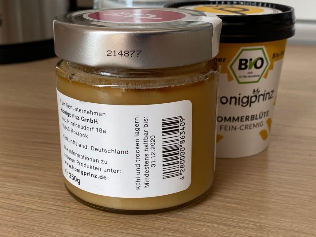 Honig Abgelaufen